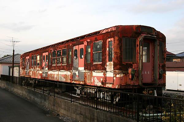 営団丸の内線444保存車